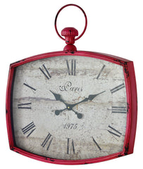 41162 Emmeline Extra Large Wall Clock by Cooper Classics | 23 x 26 inches