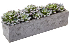 4544 Succulent Garden Faux Plant with Planter by Nearly Natural | 13.5""