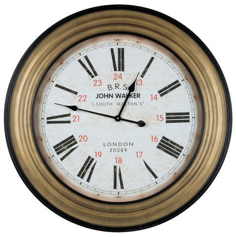 4816 Hamilton Oversized Round Wall Clock by Cooper Classics
