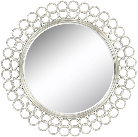 40050 Salina Oversized Round Wall Mirror by Cooper Classics
