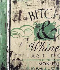 SC024 Bitch & Whine by Rodney White | Open Edition Wrapped Canvas Art 16x20