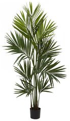 5462 Kentia Palm Artificial Tree with Planter by Nearly Natural | 84 inches