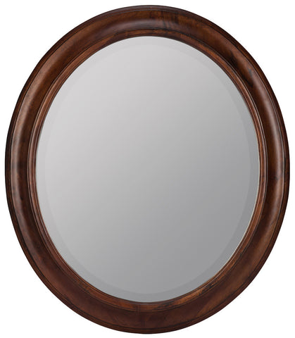 5798 Chelsea Tobacco Extra Large Oval Wall Mirror by Cooper Classics