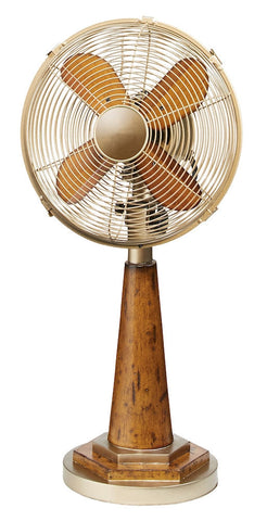 DOH2977 Origin 10 inch Decorative Oscillating Table Desk Fan by Deco Breeze