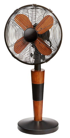 DOH2975 Legacy 10 inch Decorative Oscillating Table Desk Fan by Deco Breeze