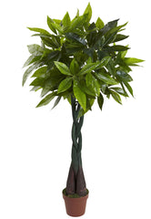 6812 Money Artificial Tree with Planter by Nearly Natural | 48 inches