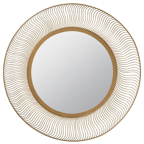 40427 Alden Extra Large Round Wall Mirror by Cooper Classics