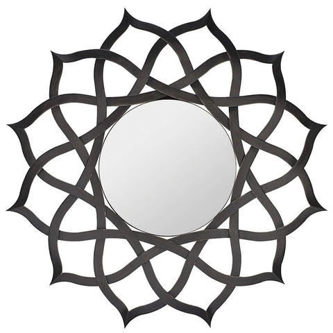 40159 Comran Oversized Round Wall Mirror by Cooper Classics