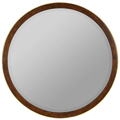 40617 Daniel Oversized Round Wall Mirror by Cooper Classics
