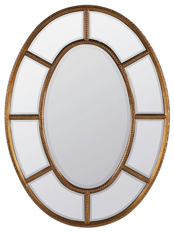 40459 Elgin Oversized Oval Wall Mirror by Cooper Classics