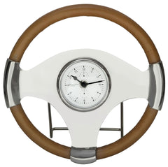 40640 Jonathan Steering Wheel Small Table Desk Clock by Cooper Classics