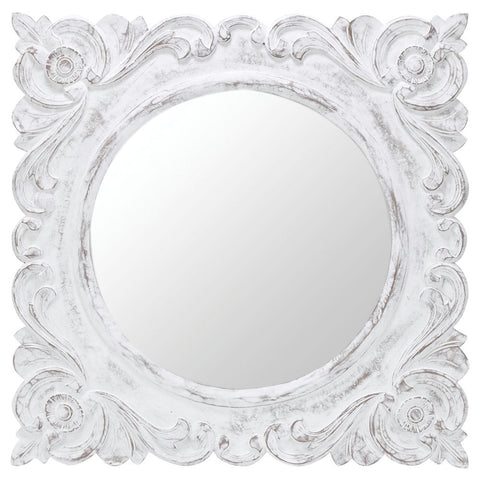 40079 Margate Oversized Square Wall Mirror by Cooper Classics