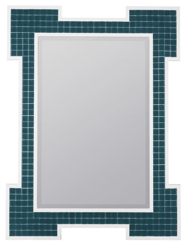 40651 Sanabel Oversized Rectangle Wall Mirror by Cooper Classics
