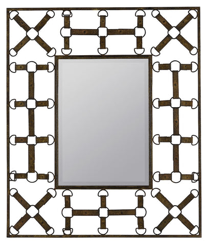 40441 Windfall Oversized Rectangle Wall Mirror by Cooper Classics