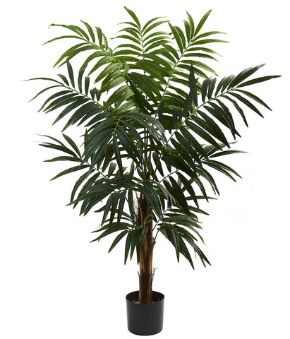 5407 Areca Palm Artificial Silk Tree w/Planter by Nearly Natural | 4.5 feet