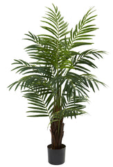 5415 Areca Palm Artificial Silk Tree w/Planter by Nearly Natural | 4 foot