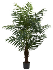 5416 Areca Palm Artificial Silk Tree w/Planter by Nearly Natural | 5 foot