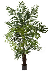 5408 Areca Palm Artificial Silk Tree w/Planter by Nearly Natural | 6 foot