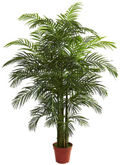 5390 Areca Palm Indoor Outdoor Silk Tree by Nearly Natural | 6.5 feet