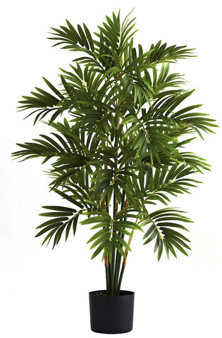 5355 Areca Palm Silk Plant with Planter by Nearly Natural | 36 inches