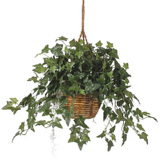 6507 English Ivy Silk Plant w/Hanging Basket by Nearly Natural | 36 inches