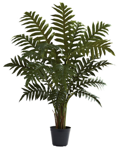 6740 Evergreen Artificial Silk Plant by Nearly Natural | 42 inches
