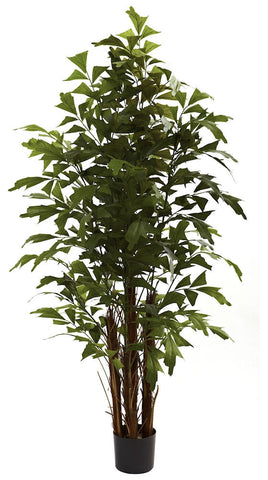 5363 Fishtail Palm Artificial Tree with Planter by Nearly Natural | 6 feet