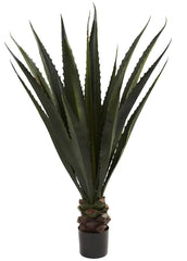 6768 Giant Agave Artificial Tree with Planter by Nearly Natural | 52 inches