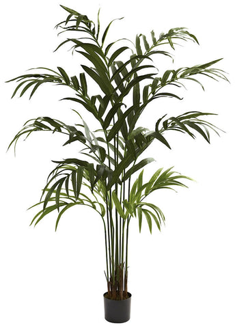 5356 Kentia Palm Artificial Tree with Planter by Nearly Natural | 6 foot