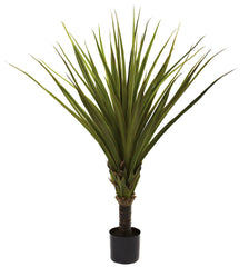 5365 Spiked Agave Artificial Silk Tree w/Planter by Nearly Natural | 5 feet