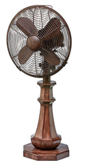 DBF5429 Coronado 10 inch Decorative Oscillating Table Desk Fan by Deco Breeze