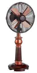DBF5433 Bently 10 inch Decorative Oscillating Table Desk Fan by Deco Breeze