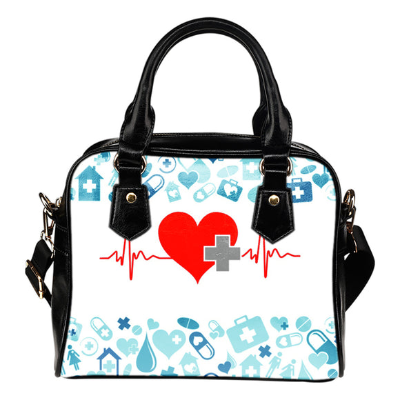 NURSE HEART BEAT HANDBAG