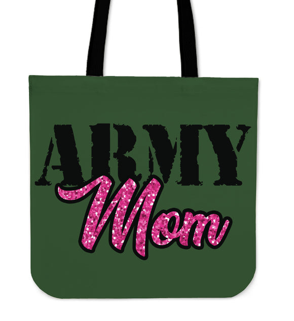 NP Army Mom Tote Bag