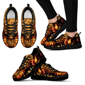 Horse Black Women's Sneakers (2)