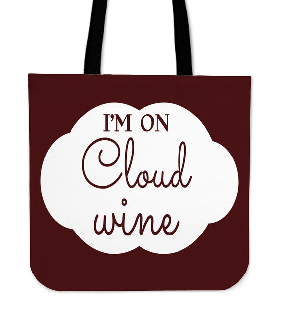 NP Cloud Wine Tote Bag