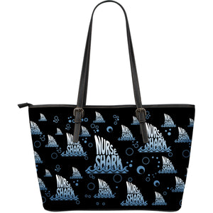 NURSE SHARK LARGE TOTE