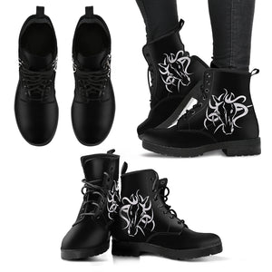 Medusa Horse Women's Leather Boots