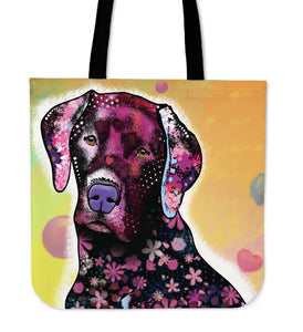 Orange Dog Tote Bag