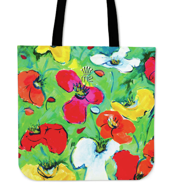 Flowers Canvas Tote bag