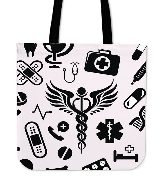 NURSE TOOLS TOTE BAG