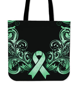 Cancer Awareness Canvas Tote Bag