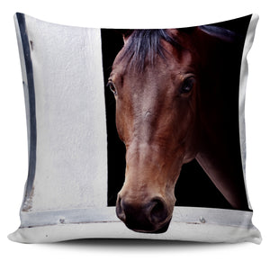 Brown Horse Pillow Cover (2)