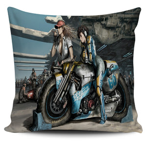 Biker Fantasy Pillow Cover