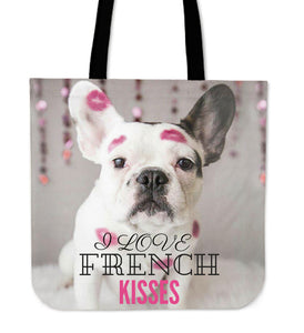 I LOVE FRENCH KISSES - Tote Bag