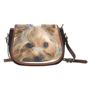 Yorkie Saddle Bag