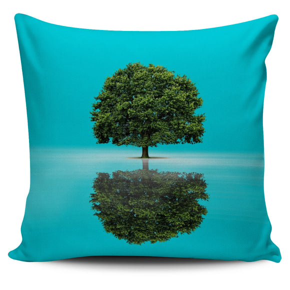 Reflection Tree Pillow