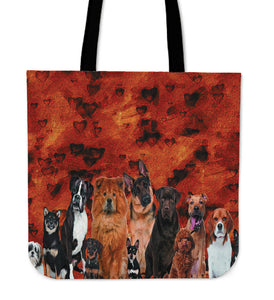 Dog crew Tote Bag