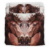 Two Horses - Bedding Set