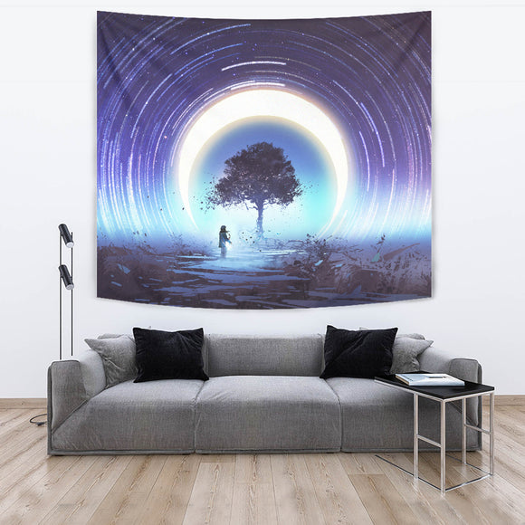 Moon Light Sonata Tapestry